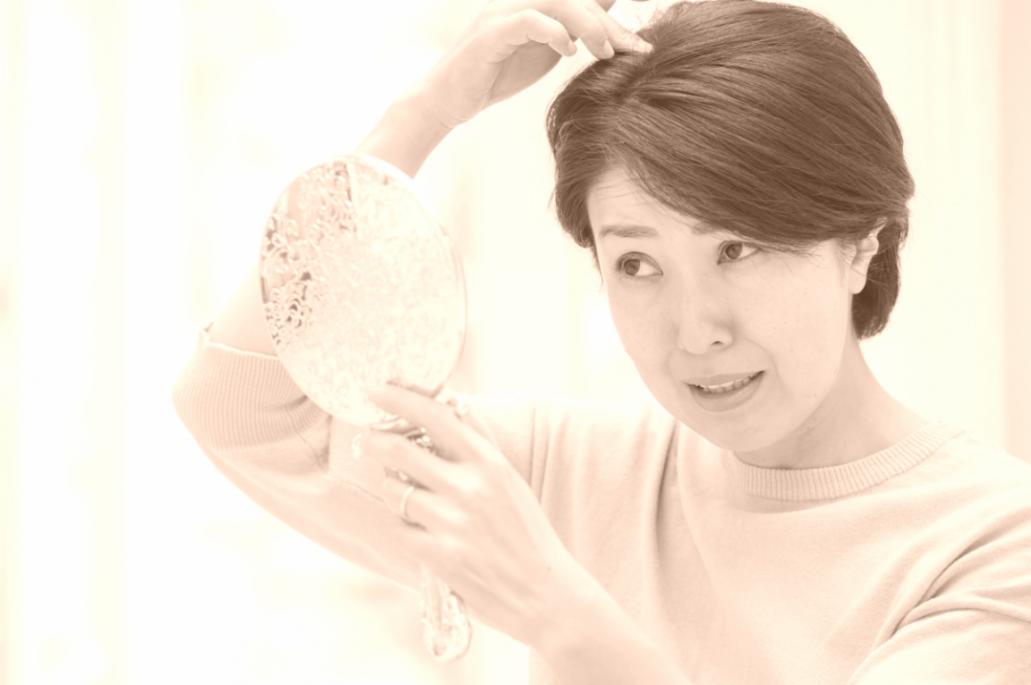毛髪(女性)9